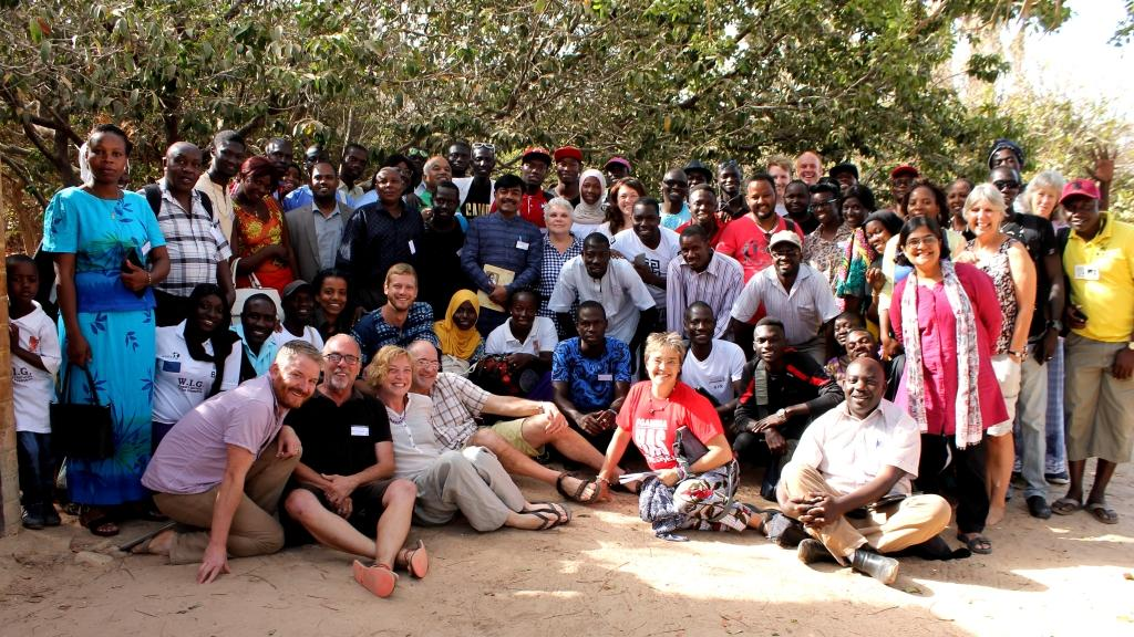 WasteAid & Arkleton Trust with Community Leaders from The Gambia, Kenya, Ethiopia, Malawi, Uganda, Cameroon, India, Portugal and UK, April 2017