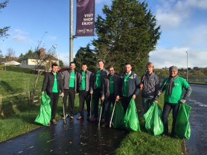 CDEnviro on a sponsored litter pick for WasteAid UK