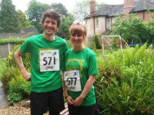 A 22-mile hike by Frith Resource Management raised nearly £200 for WasteAid