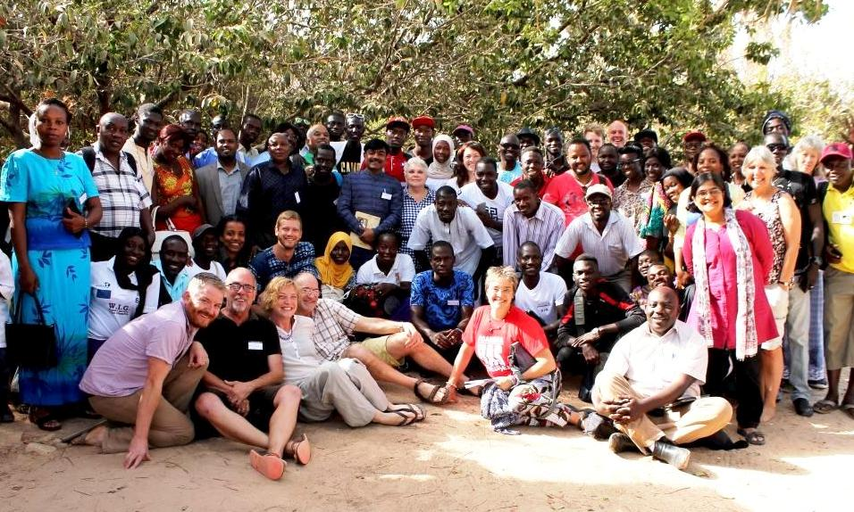 The Arkelton Trust and WasteAid with international participants