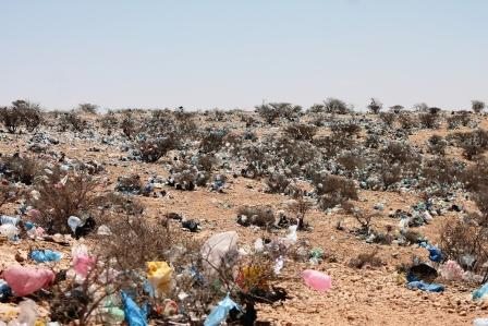 Waste in a country that does not exist