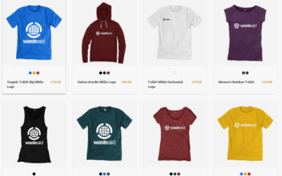 The new WasteAid shop is live!