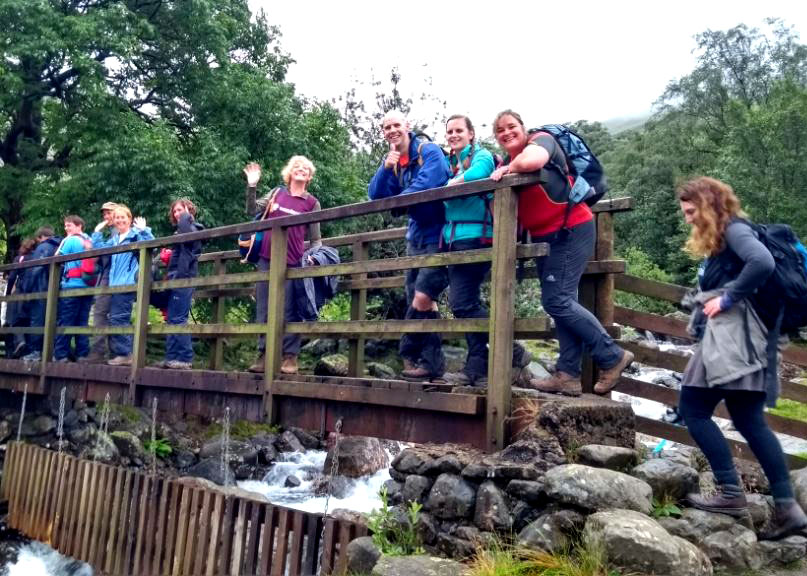 Walk for Waste, Scafell Pike, WasteAid fundraiser July 2017