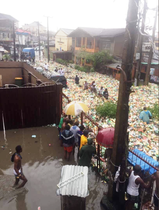 Floods in Lagos Nigeria May 2017