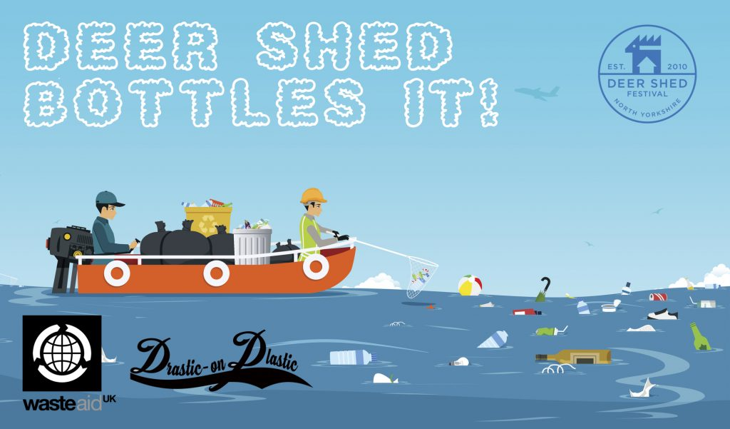 WasteAid to be official charity partner at Deer Shed Festival