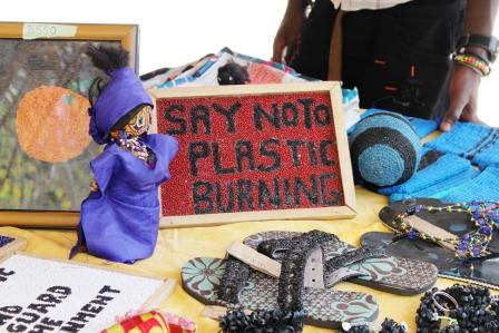 Recycled Plastic Products by Womens Initiative of The Gambia_WasteAid UK_compressed
