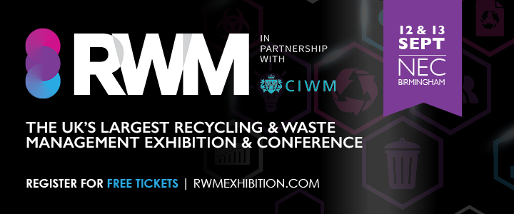 Meet WasteAid at RWM, 12-13 September 2018