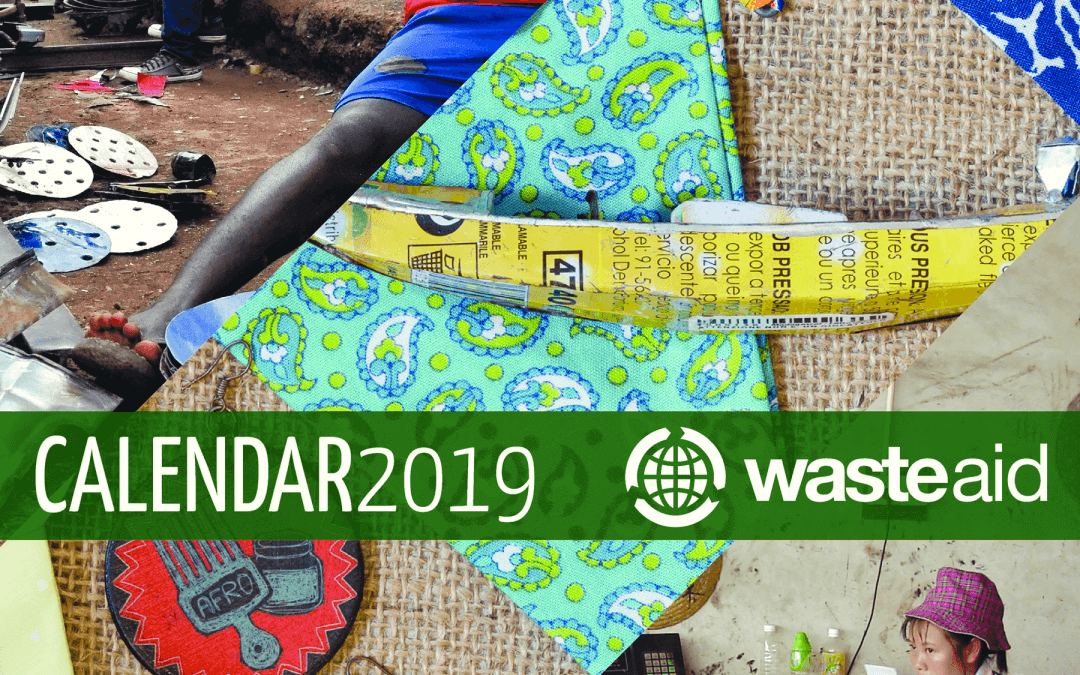WasteAid 2019 Calendars – on sale now!