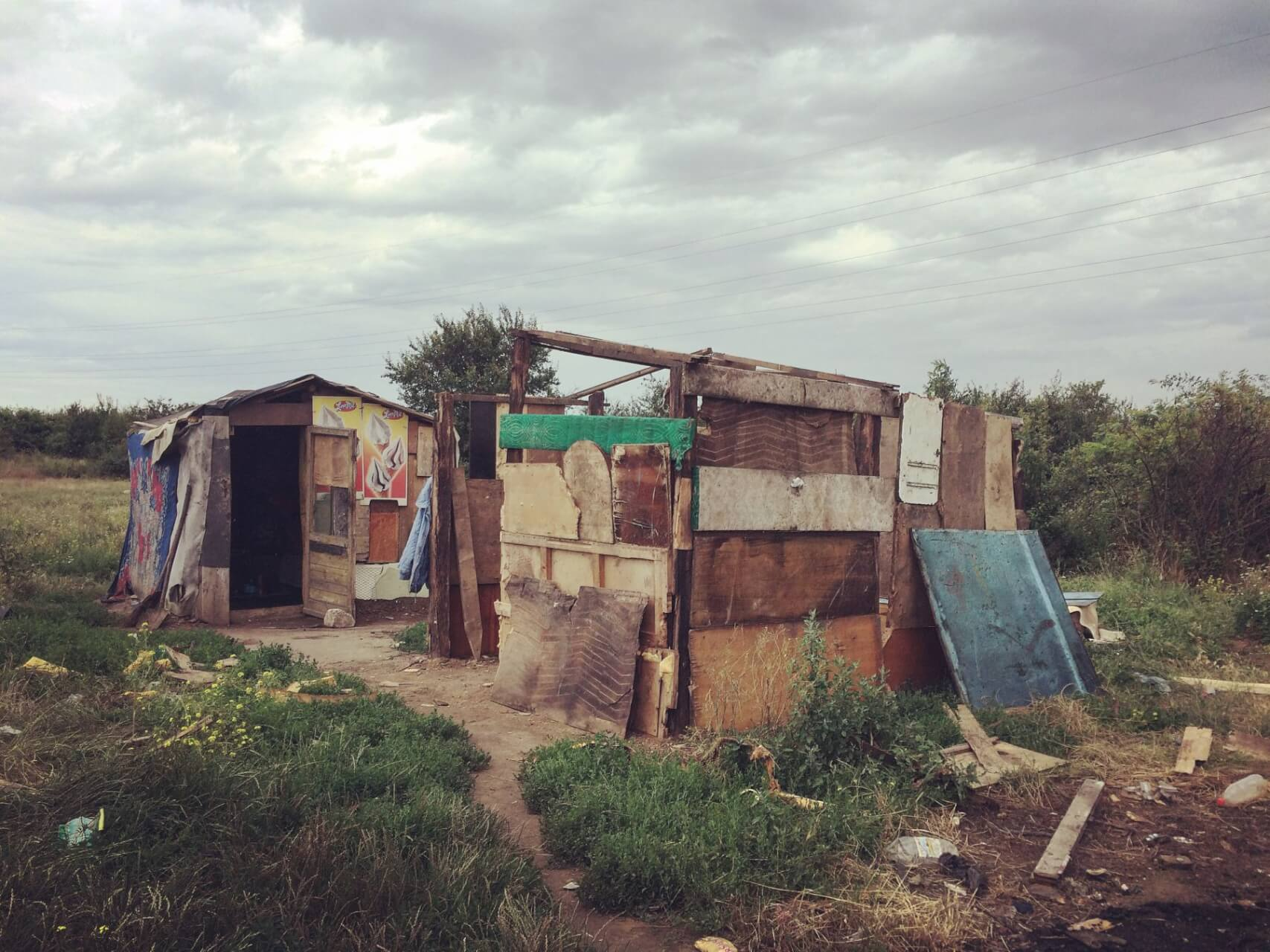 Shelter, safety, a home, by Lauren Woodward in Oradea, Romania
