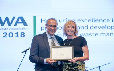 WasteAid collects international award for toolkit, Making Waste Work