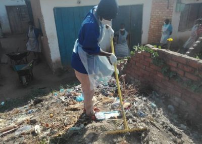 Go Green Cleaning in Nkhata Bay, Malawi (by Moffatt Kaunda)
