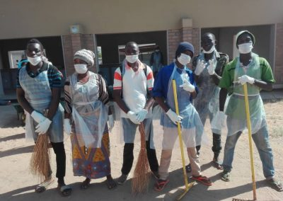 Go Green Cleaning in Nkhata Bay market, Malawi (by Moffatt Kaunda)