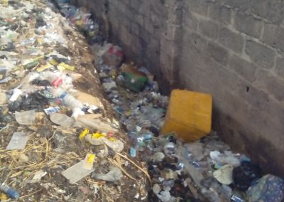 Uncollected waste litters the landscape in Ibadan, Nigeria (Oluwole Ojetunde)