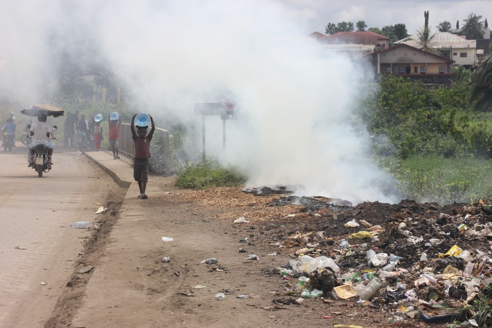 Children that live in areas without waste management have six times the level of respiratory disease
