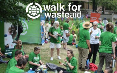 Walk for WasteAid 2019 Manchester 6 July