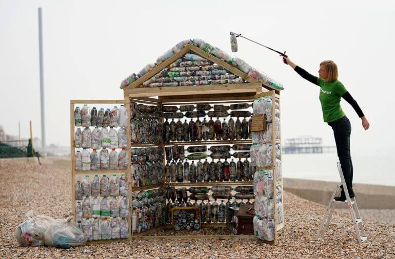 WasteAid launched its Widening the Net campaign in Brighton