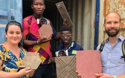 A visit to the WasteAid plastics recycling training centre in the Gambia