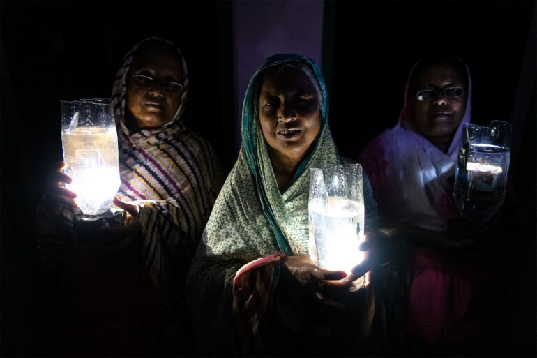 Litre of light in India by Sudip Maiti
