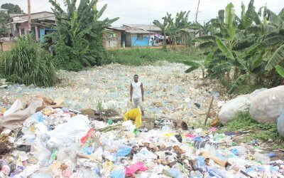 Preparing for a plastics recycling training centre in Cameroon