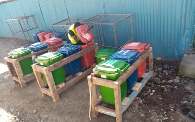 Red bins, blue bins, green bins? What's KMEG up to now?