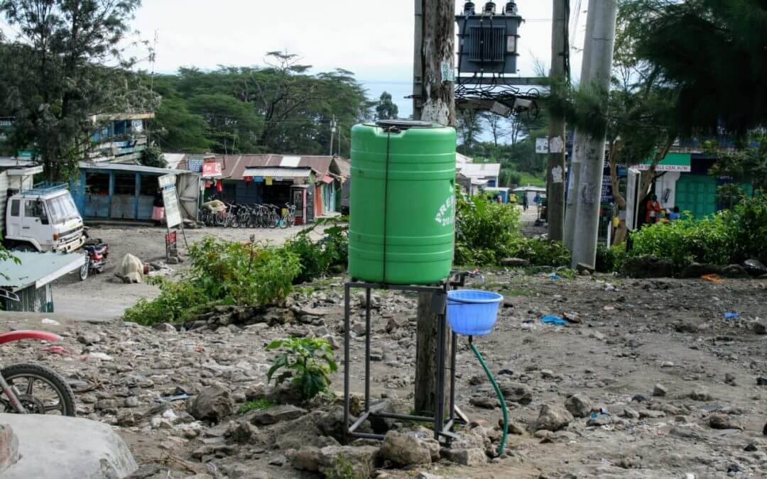 WasteAid supporters make the difference to COVID resilience in Kenya
