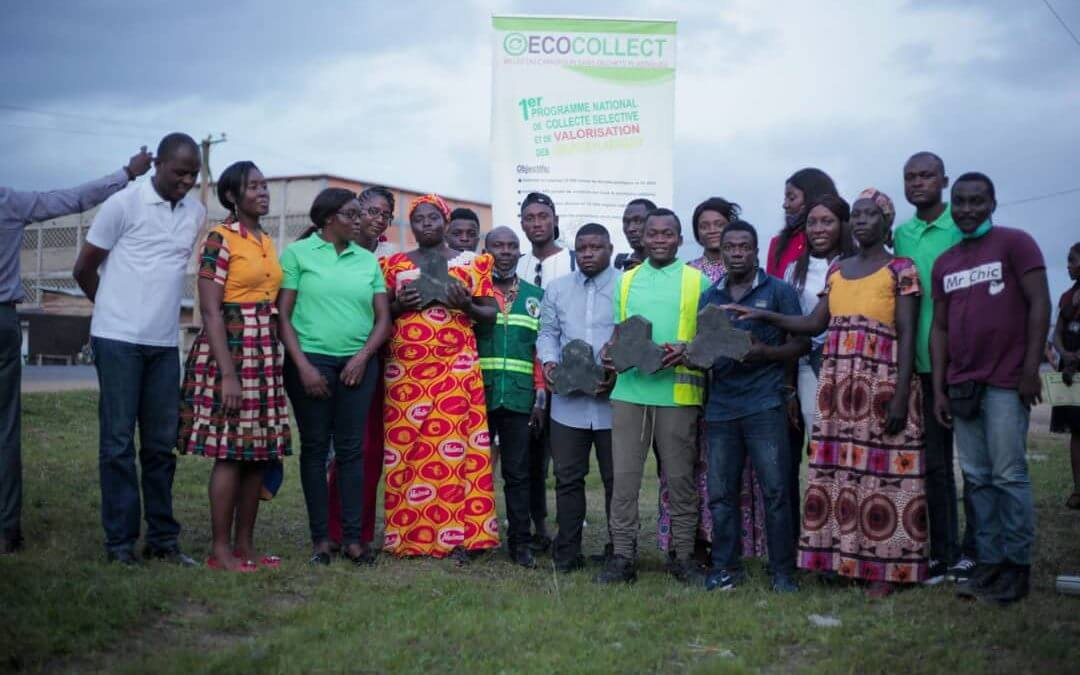 WasteAid announces new partnership for its programme to prevent plastics from entering the ocean in Douala, Cameroon