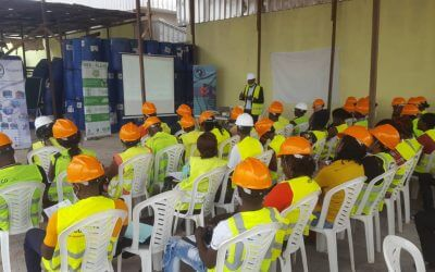 Plastic champions training begins in Cameroon