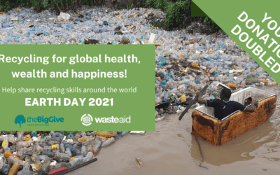 Earth Day 2021 – your donation doubled!