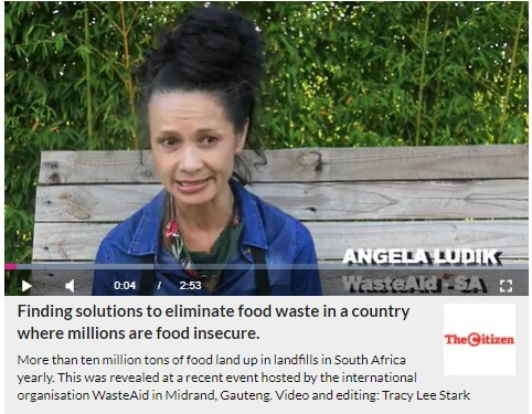 Link to video for WasteAid event in Johannesburg